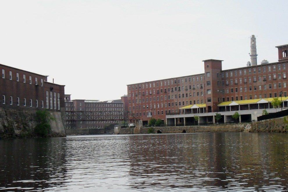 Saco's mill basin