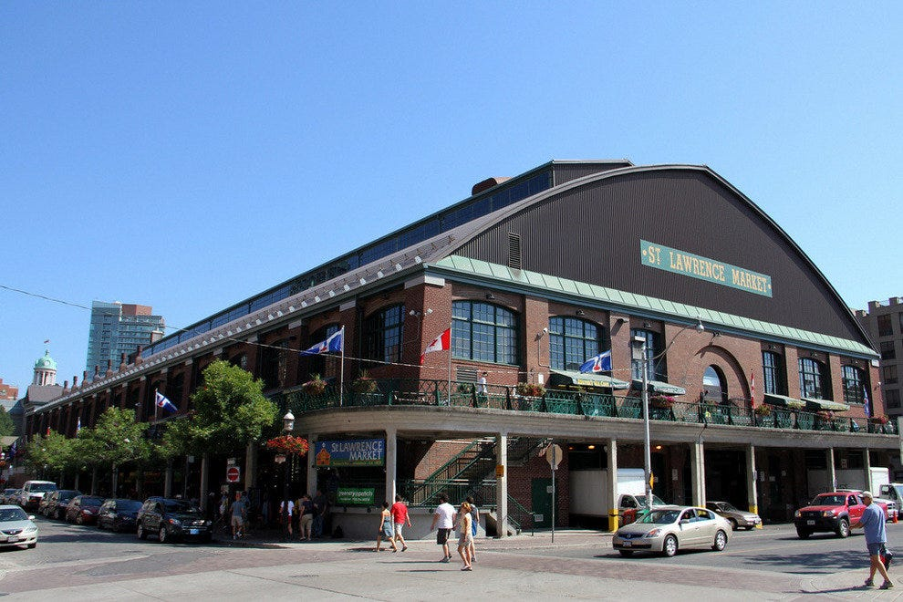 St. Lawrence Market - voted the world's best food market