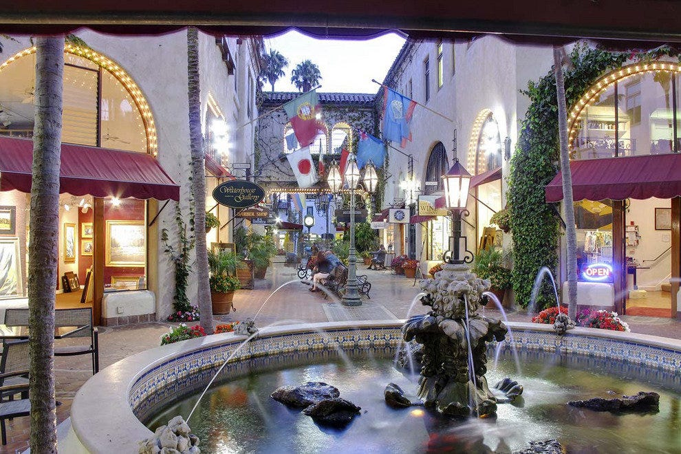 Visit La Arcada during Shop Spree SB to take advantage of specials offered by local boutiques.