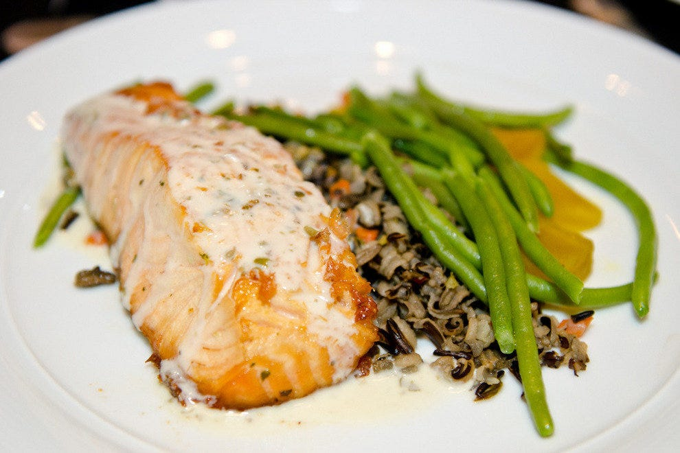 Salmon and Wild Rice