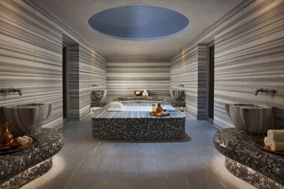 A key highlight of the spa is Singapore's first authentic Turkish Hammam