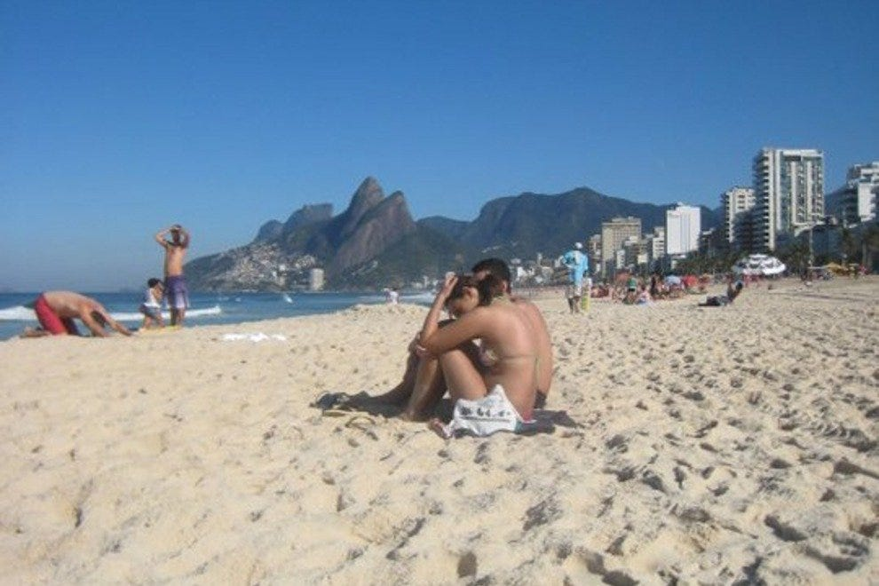 Be sure to spend some time soaking up the sun on Ipanema beach