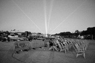 Flashback To The 50s at San Diego's Full Moon Drive-In