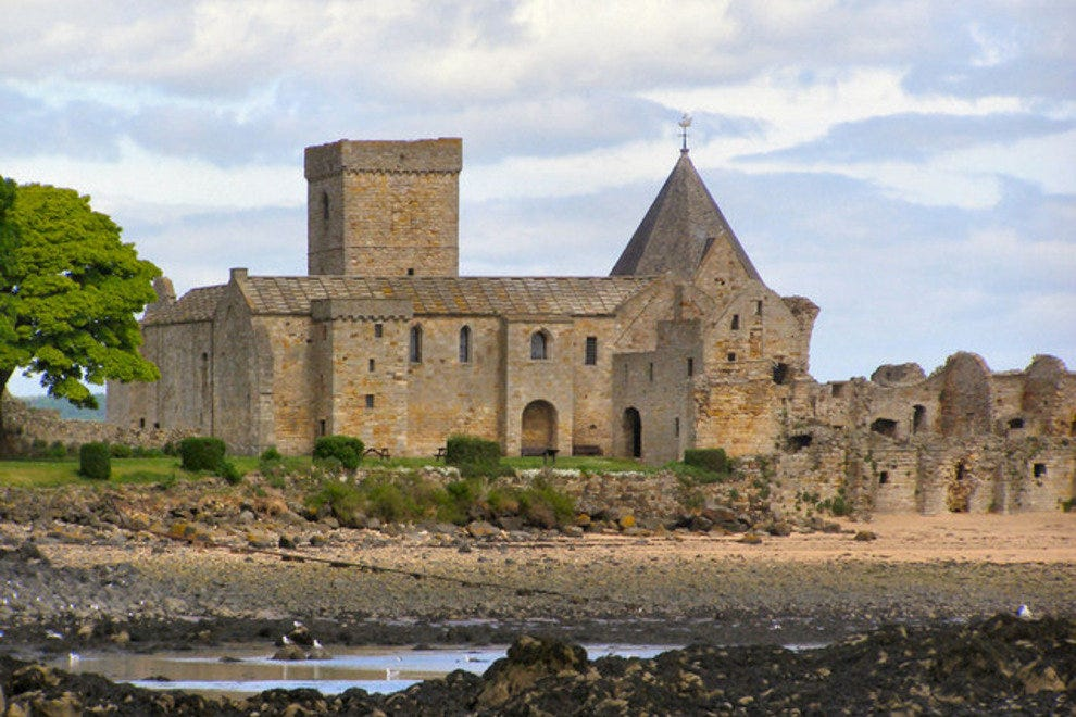 Abbey on Inchcolm Island