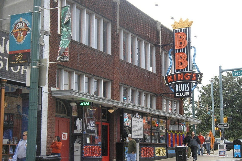 B.B. King's club on Beale Street.