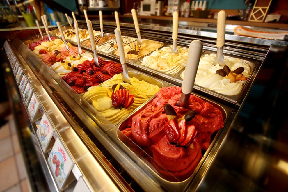 Gelatiamo Ice Cream Cake Seattle