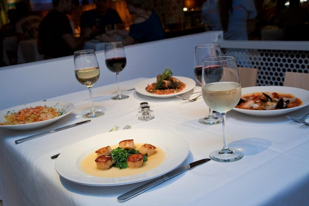 Best Seafood Restaurants In Palm Springs Area