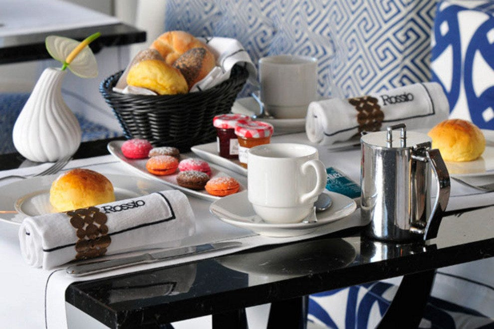 Afternoon Tea Service at Rossio Restaurant