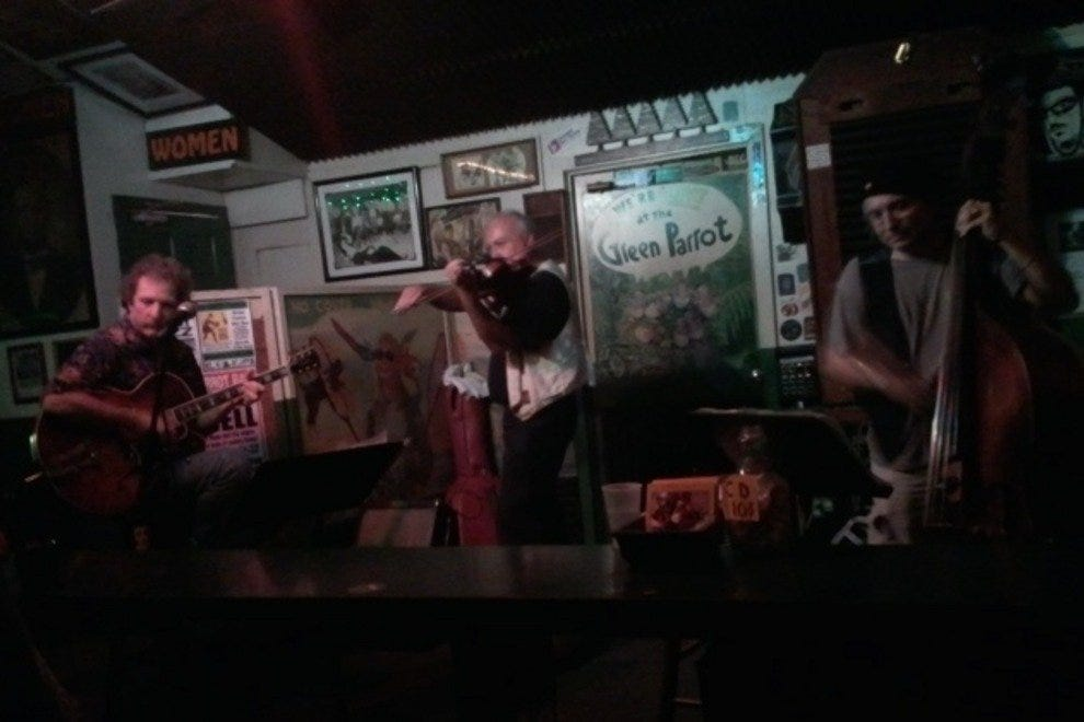 The Music at the Green Parrot