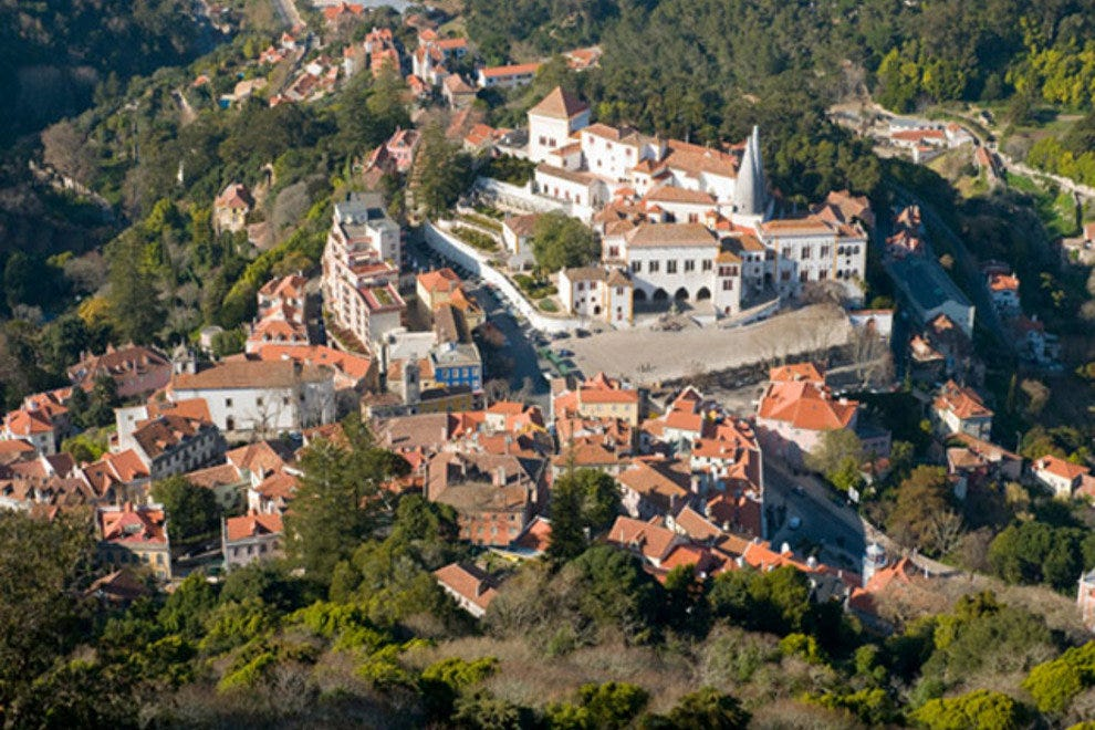 The historic town of Sintra