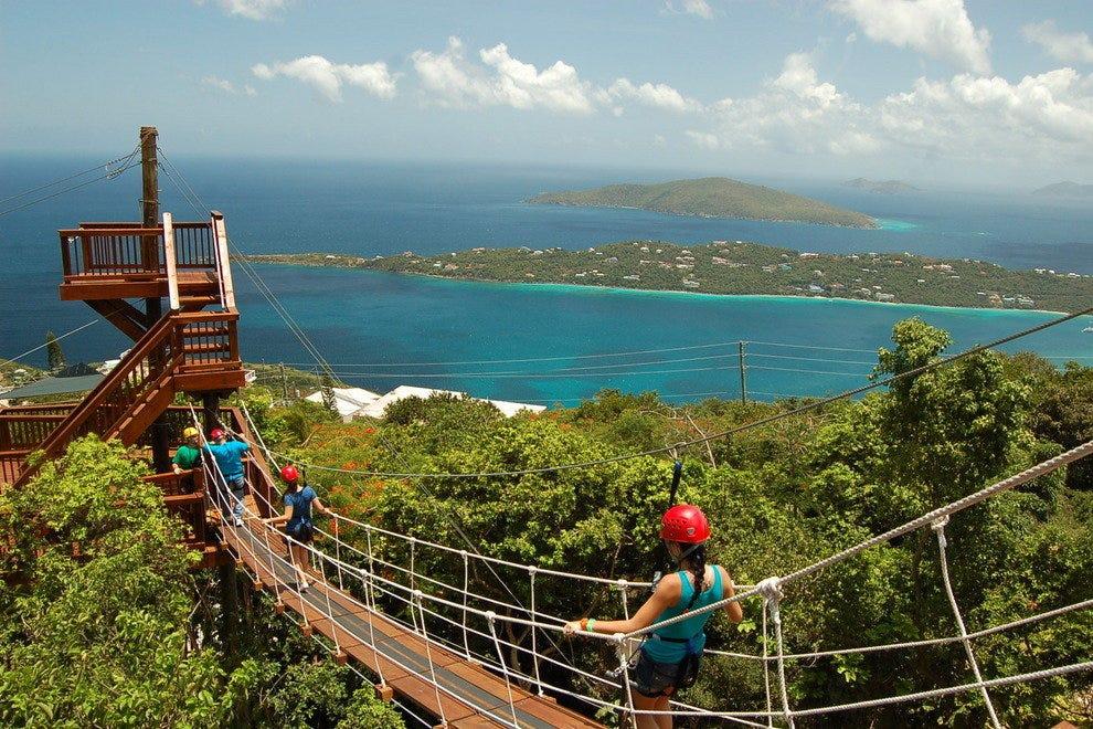 tourist restaurants info islands Virgin