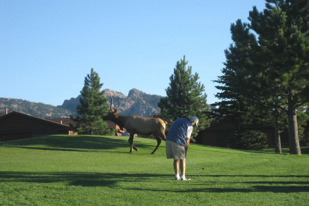 Golf in the national parks presents new challenges