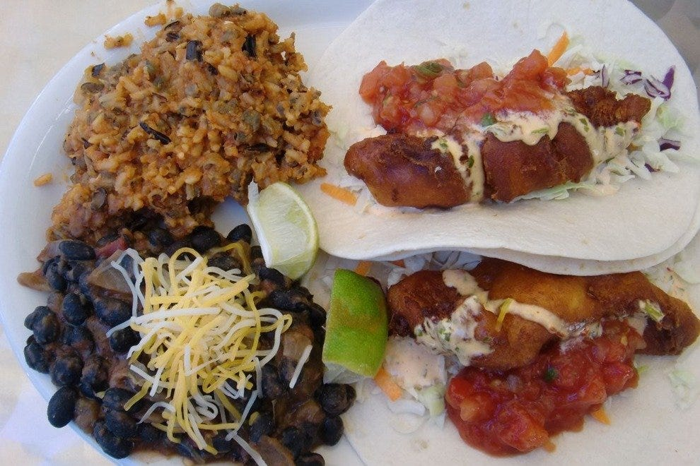 The Brewing Company's Fish Tacos