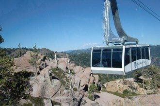 See Lake Tahoe from the Squaw Valley Aerial Tram