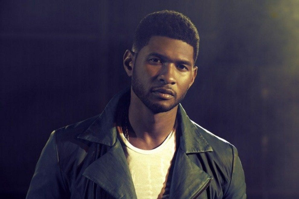 Usher will perform at the Moon Palace on December 29, 2012