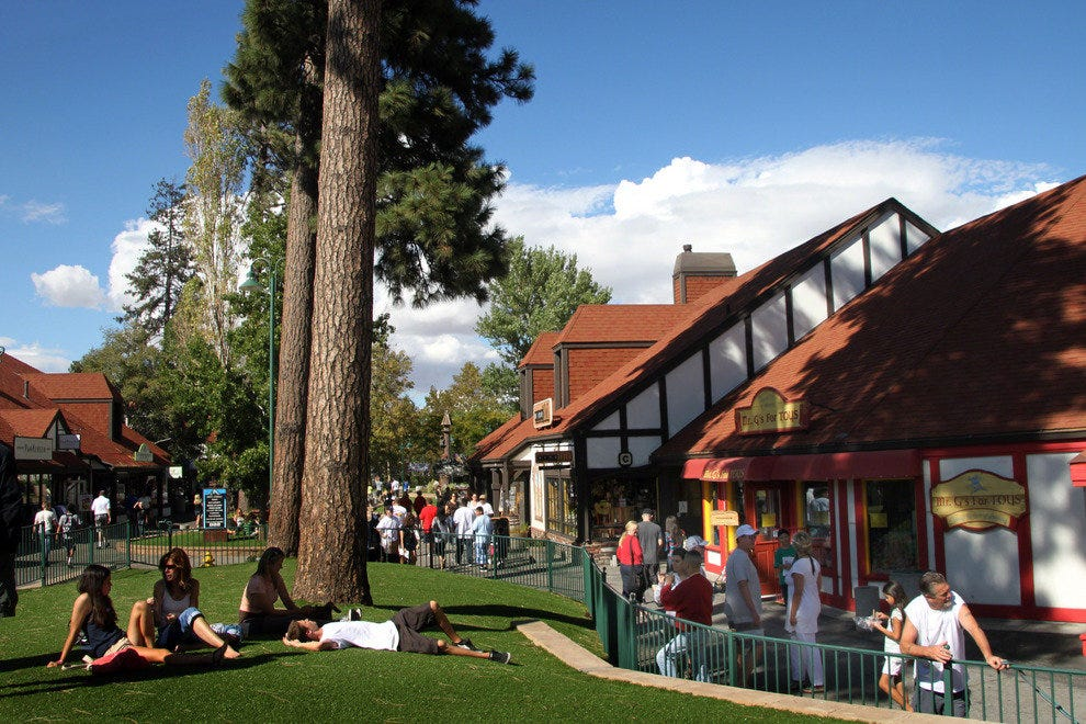 Enjoy Picturesque Shopping in Lake Arrowhead's Alpine Setting