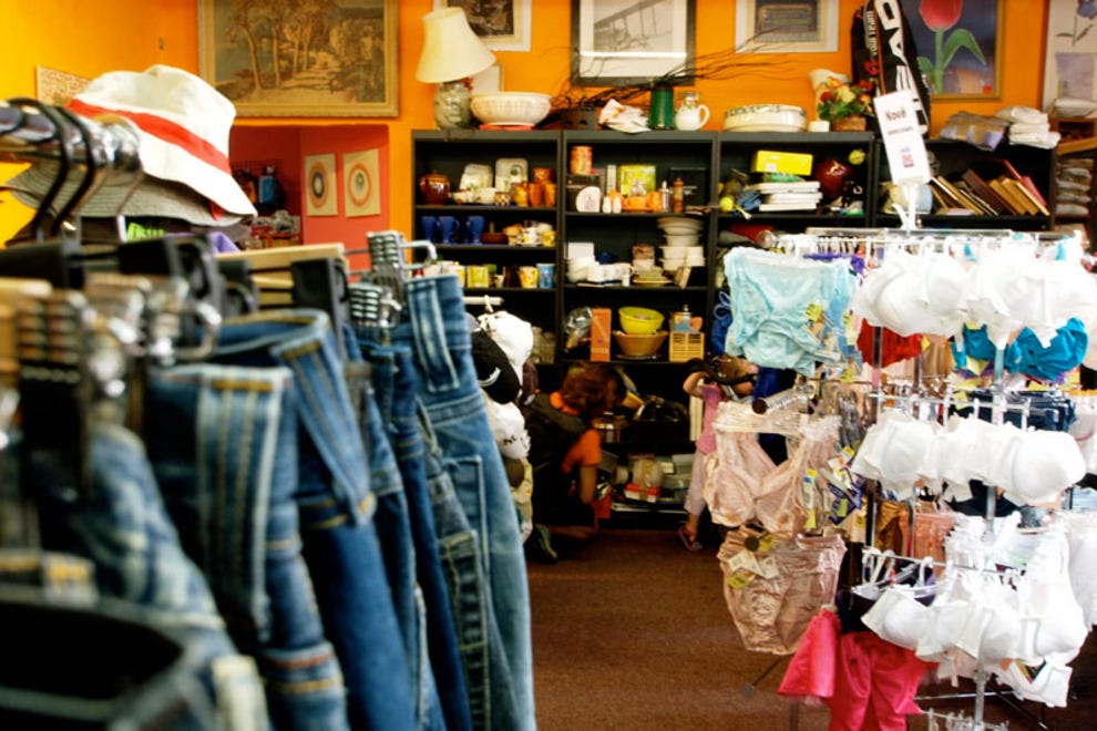 Do thrift stores buy clothes Online clothing stores
