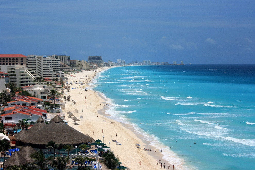 Cancun's hotel zone