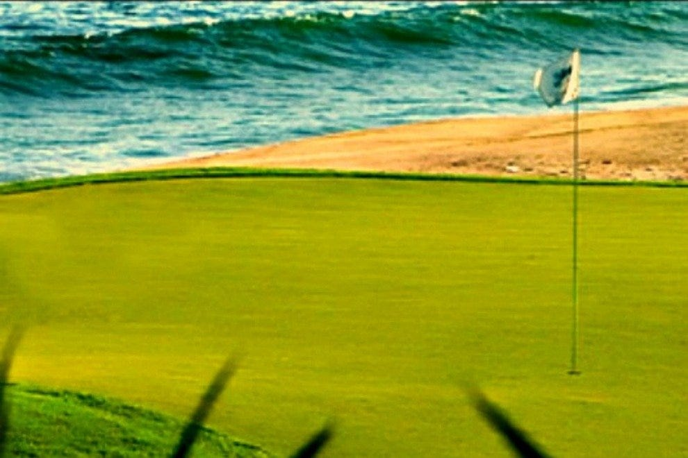 Puerto Los Cabos is one of the area's signature courses, and offers spectacular seaside views.