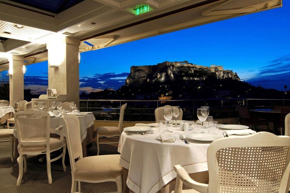 Electra Palace Restaurant Athens Restaurants Review