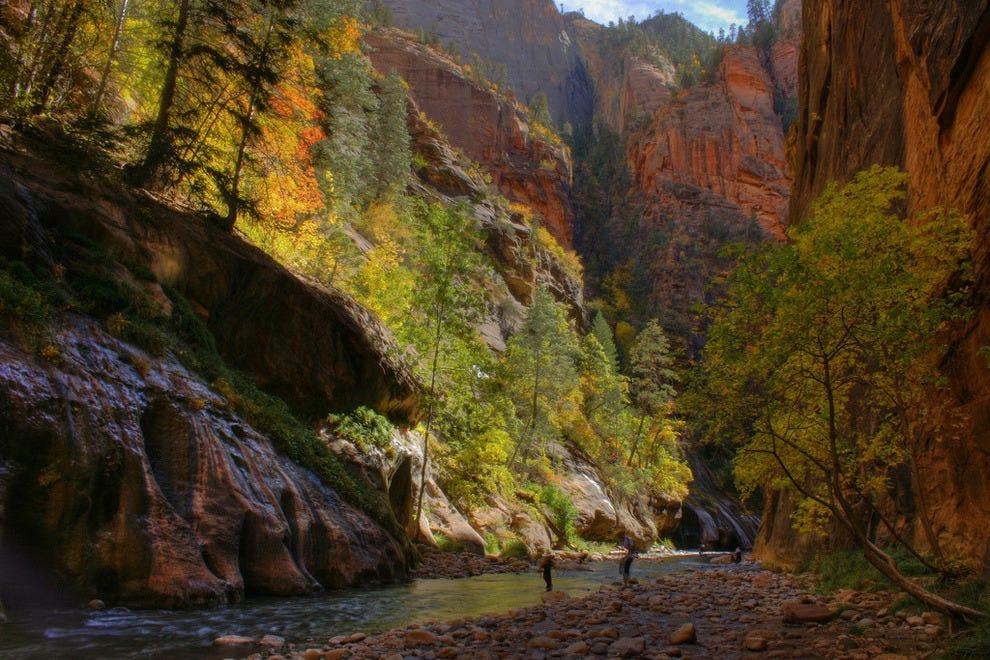 Narrows Trail at Zion National Park