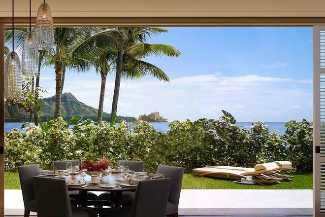 Outdoor Dining In Honolulu