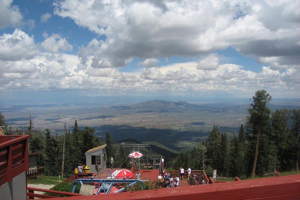 桑迪亚峰滑雪场