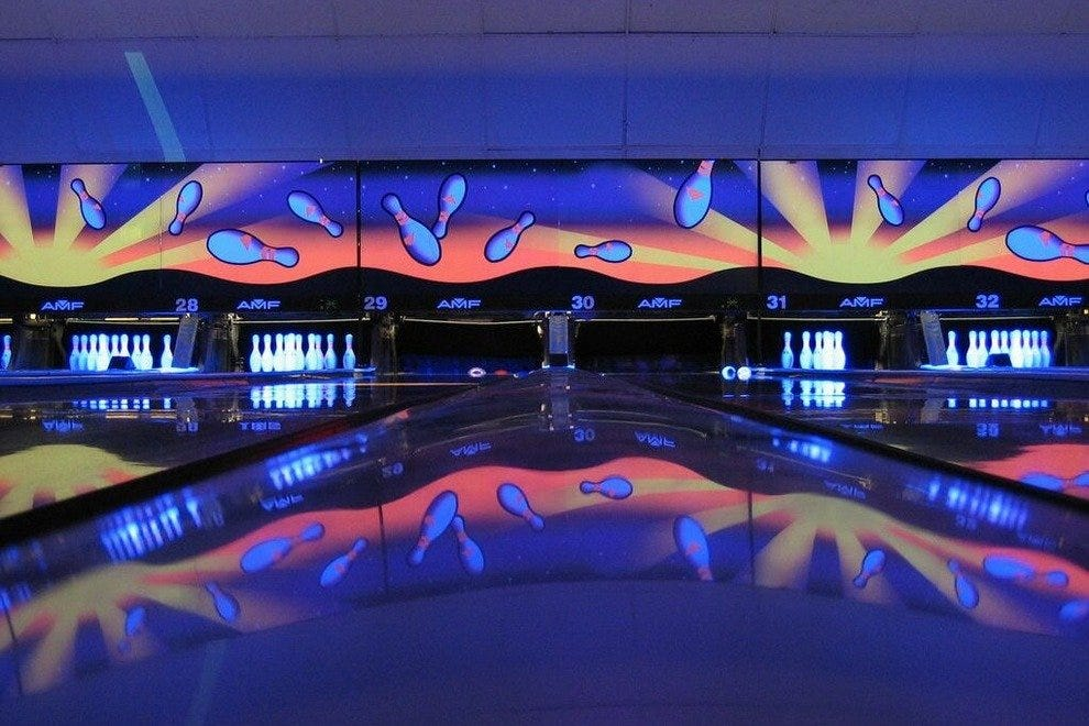 Cosmic Bowling at Frank's
