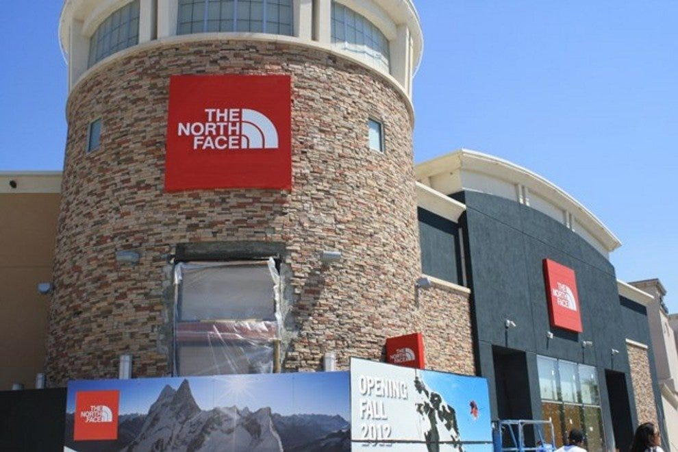 The new North Face store at ABQ Uptown