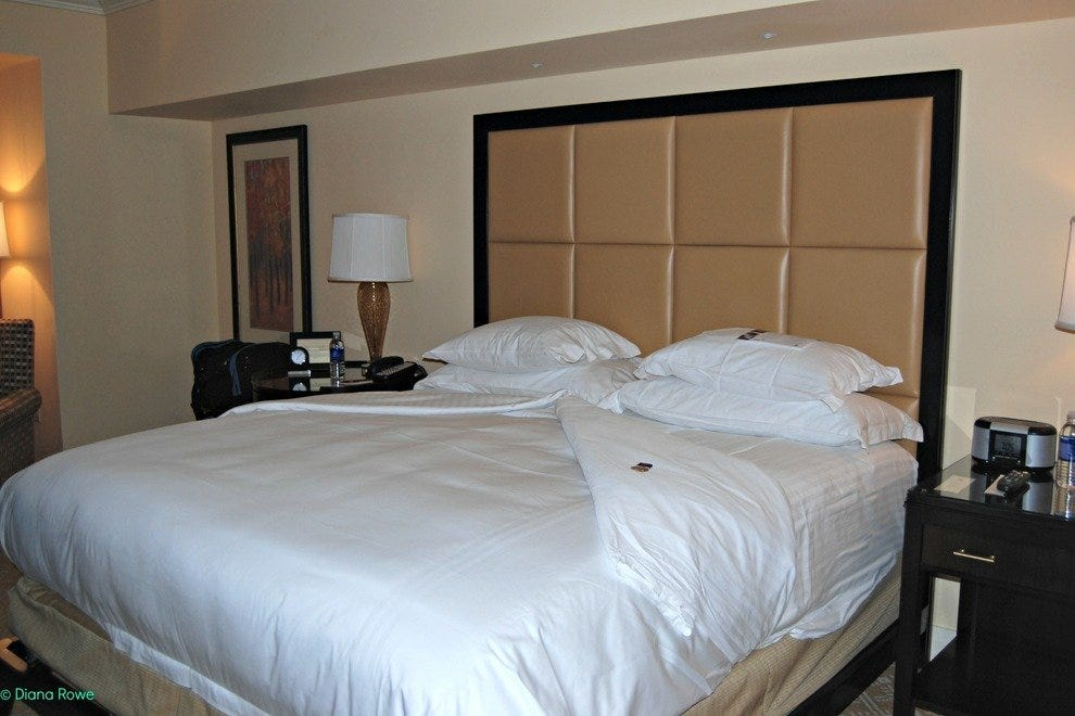 Accommodations at the Five-Diamond AAA Ritz Carlton Denver