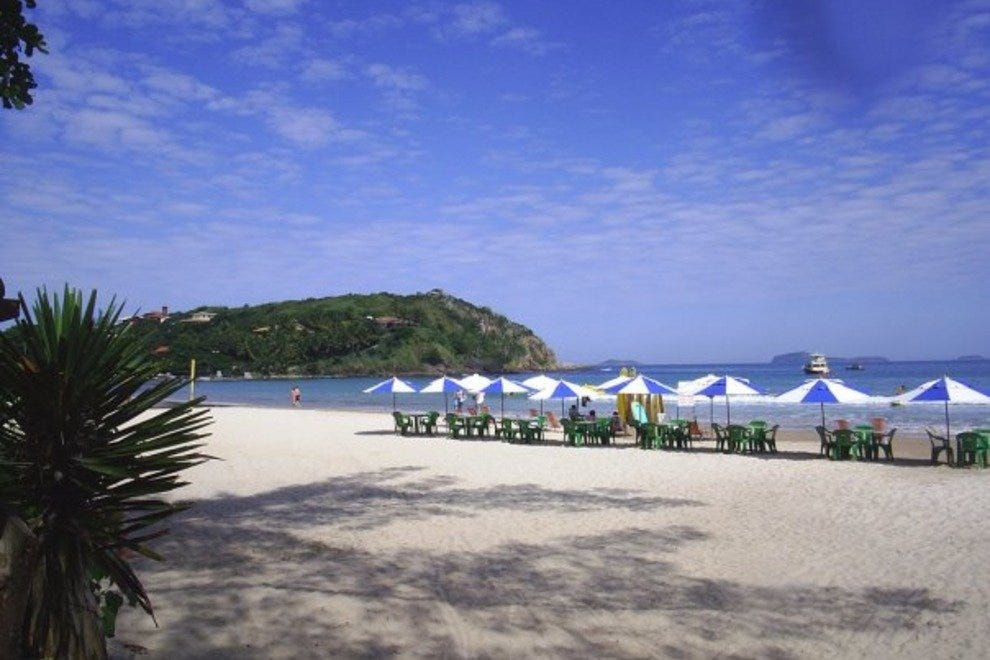 Buzios offers countless prisitine beaches
