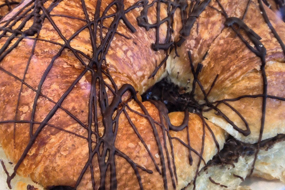 "The chocolate croissant at Epicure may have been the reason why the term ""to die for"" was invented!"