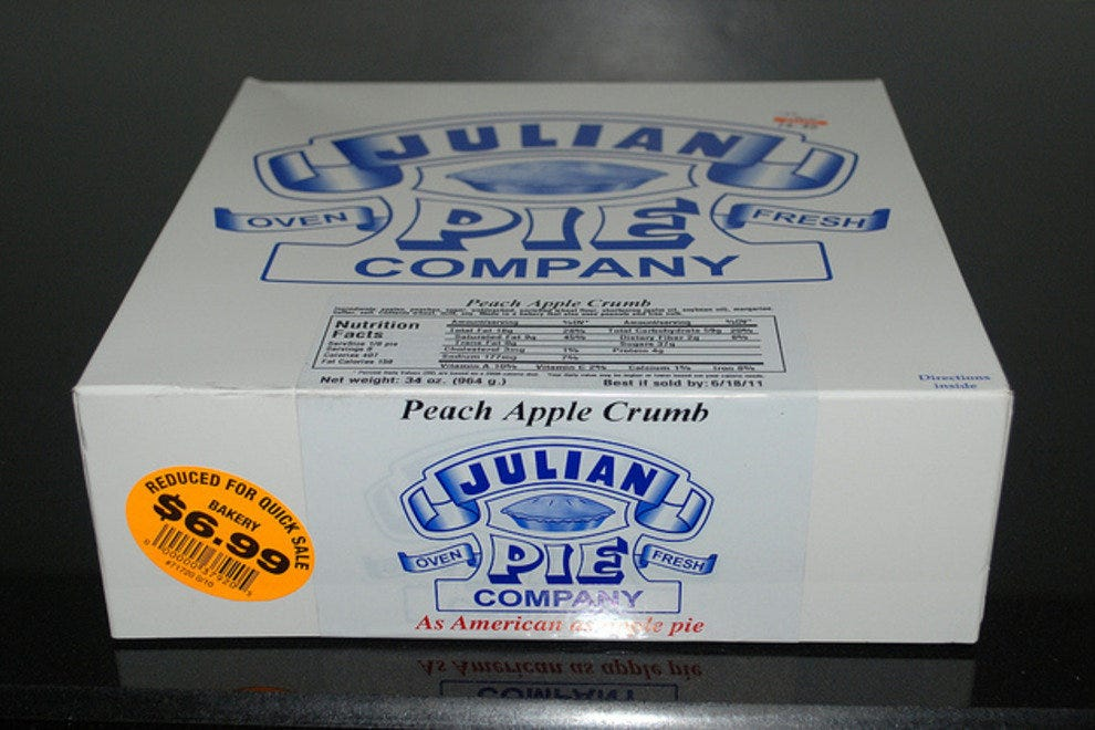 Julian signature pie box
