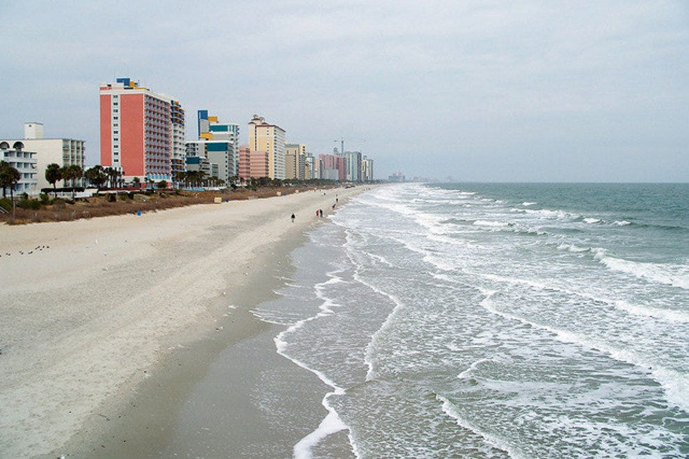 Myrtle Beach's oldest oceanfront hotel is no more