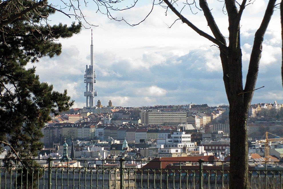 Zizkov television tower prague attractions review for Prague top 10