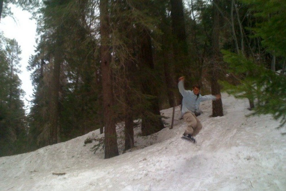 Snowboarding at Mount Lemmon