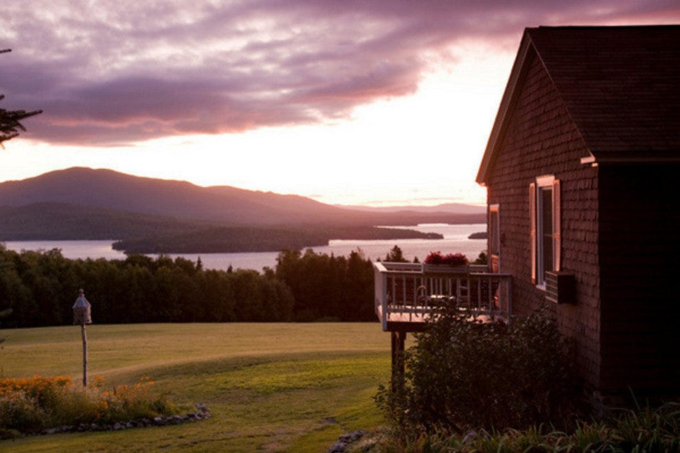 The Lodge at Moosehead Lake in Greenville, Maine