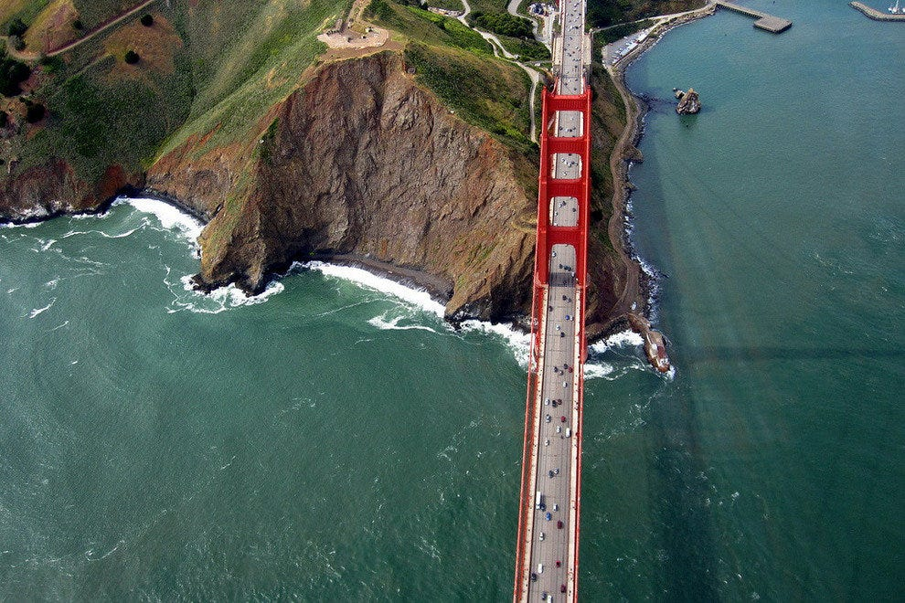 Golden Gate Bridge from Above