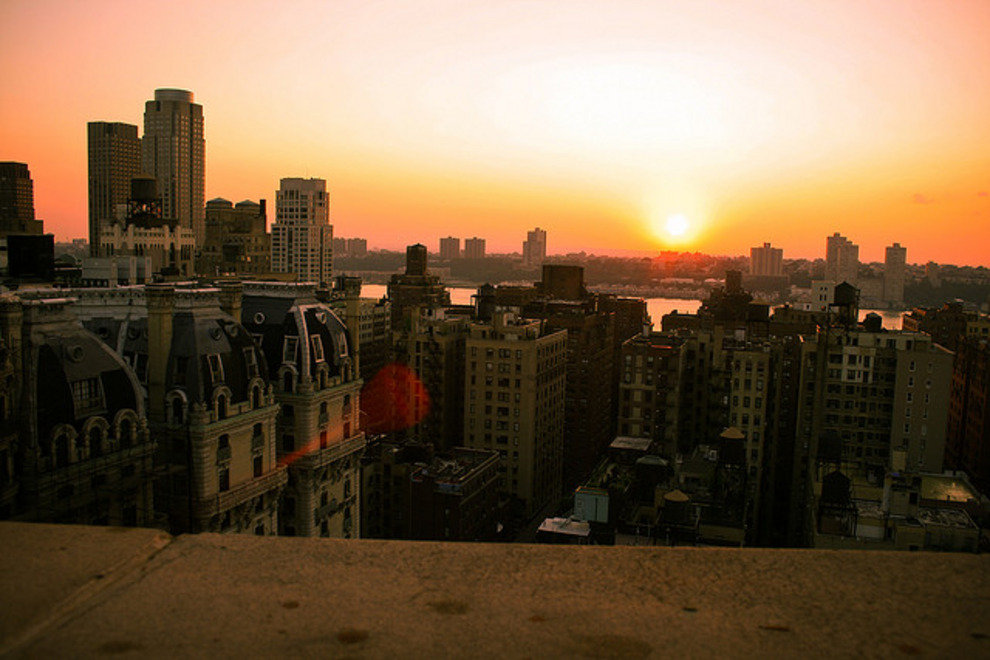 Views of the Hudson River and Central Park are just a couple of the perks guests of the Beacon Hotel enjoy