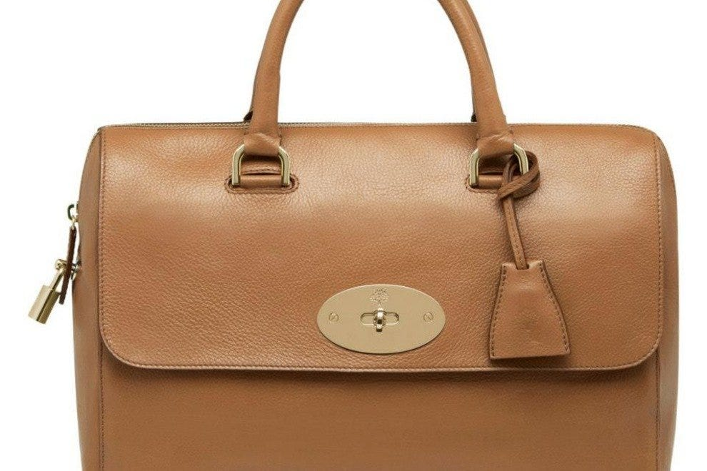 The Del Rey in Deer Brown from Mulberry