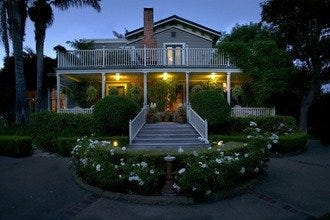 Santa Barbara Home to Only Five Diamond B&B in North America
