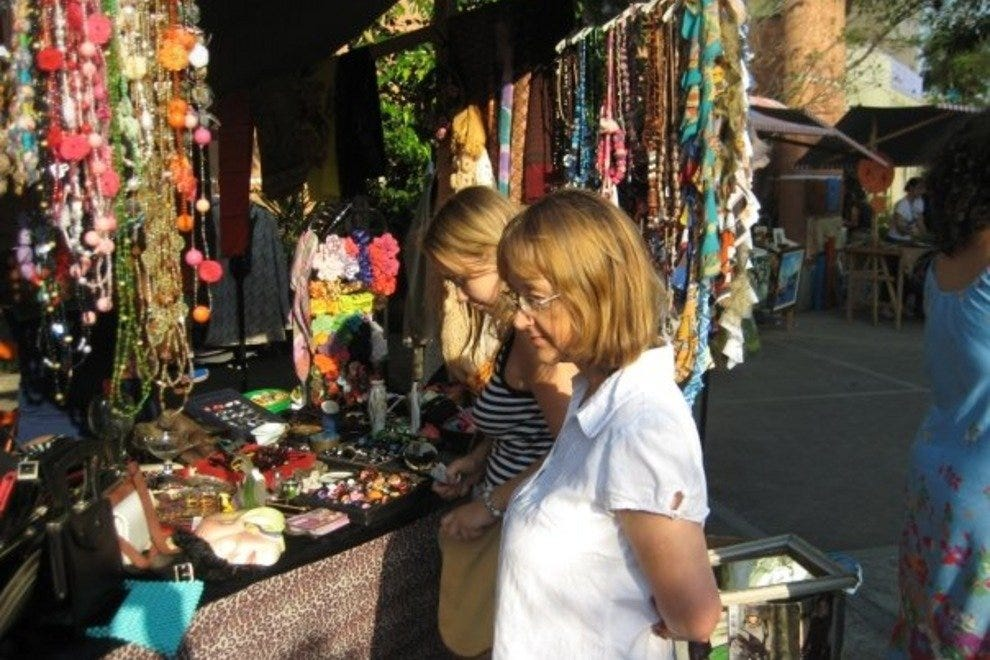Santa Teresa is a great place to pick up vintage clothes and handmade accessories