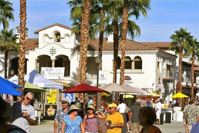 10 Best Places to Shop in Palm Springs, CA - USA TODAY 10Best Map Of Palm Springs Tourism on map of rancho mirage, map of zumanity, map of places to visit, map of attractions, map of travel guide, map of california travel, map of la quinta, map of zip code, map of palm desert, ca, map palm springs home s stars, map of laughlin, map of cathedral city,