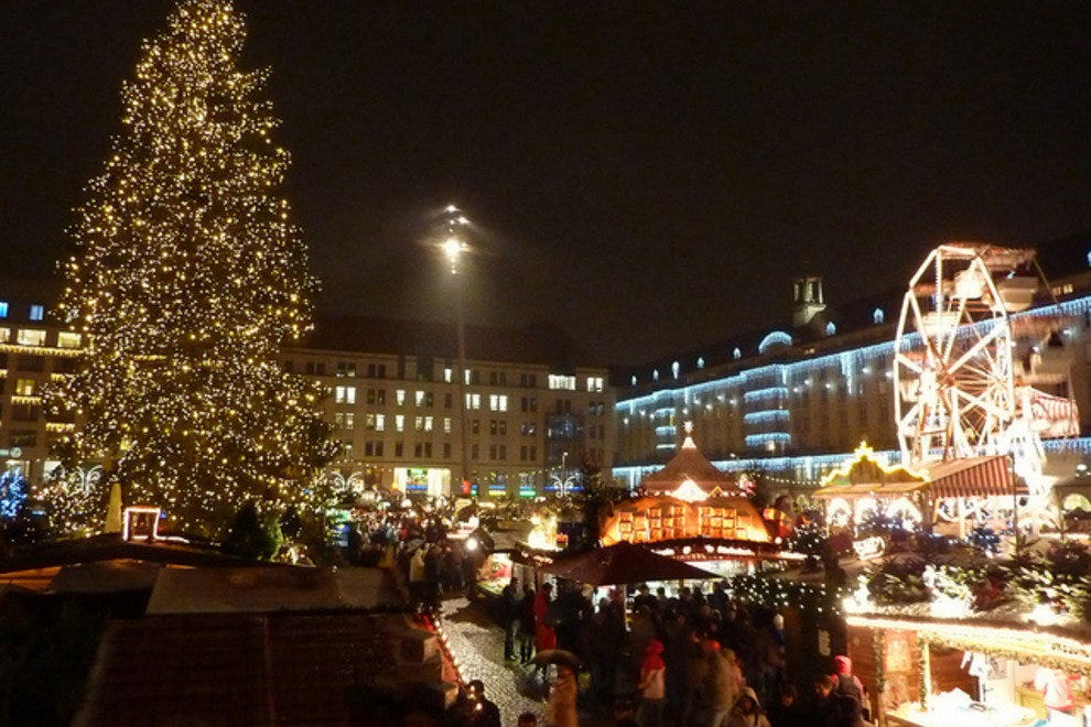 Saxony is well known in Germany for its Christmas markets