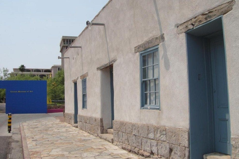 Explore Tucson's heritage with a stroll around the Tucson Museum of Art historic block