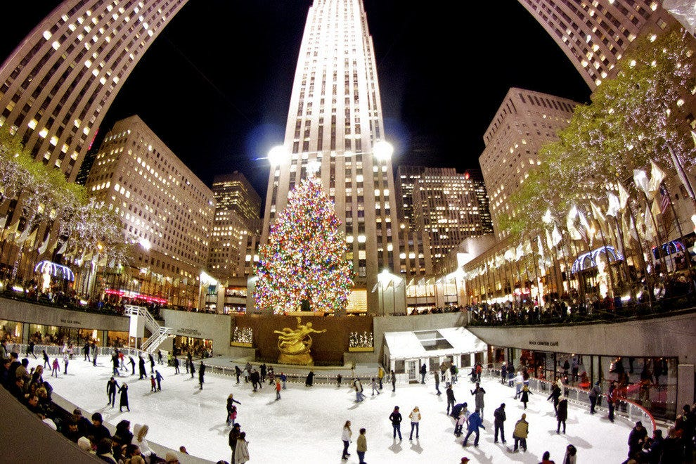 New York for Rockefeller Center Christmas Tree Lighting