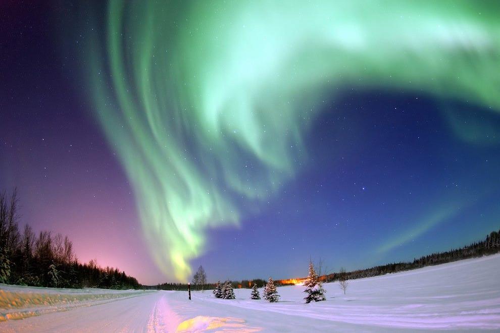 North Pole, Alaska (Near Bear Lake)