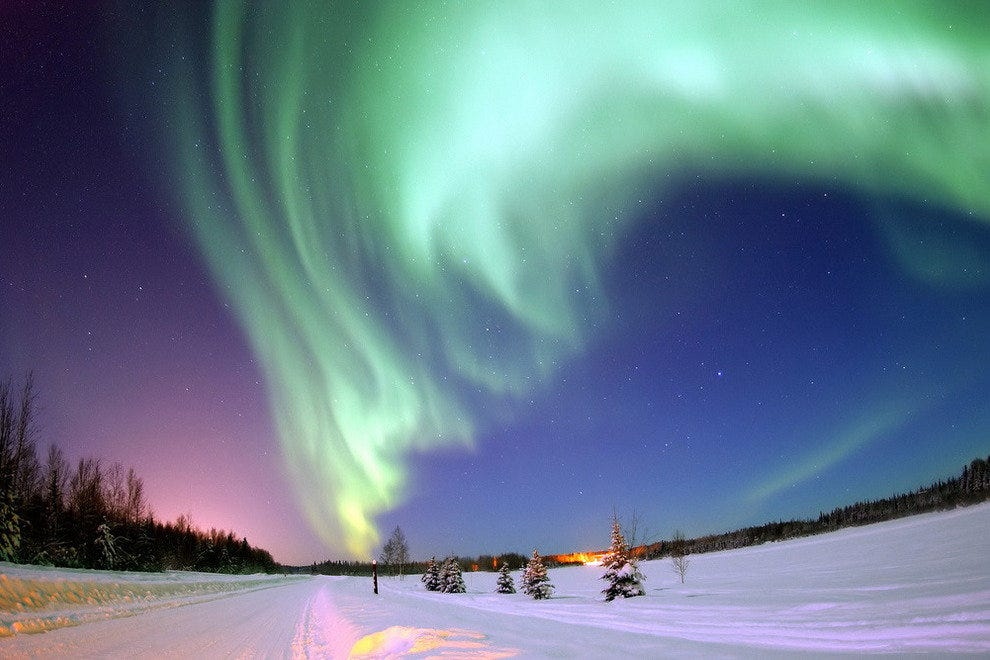 North Pole, Alaska (Near Bear Lake)