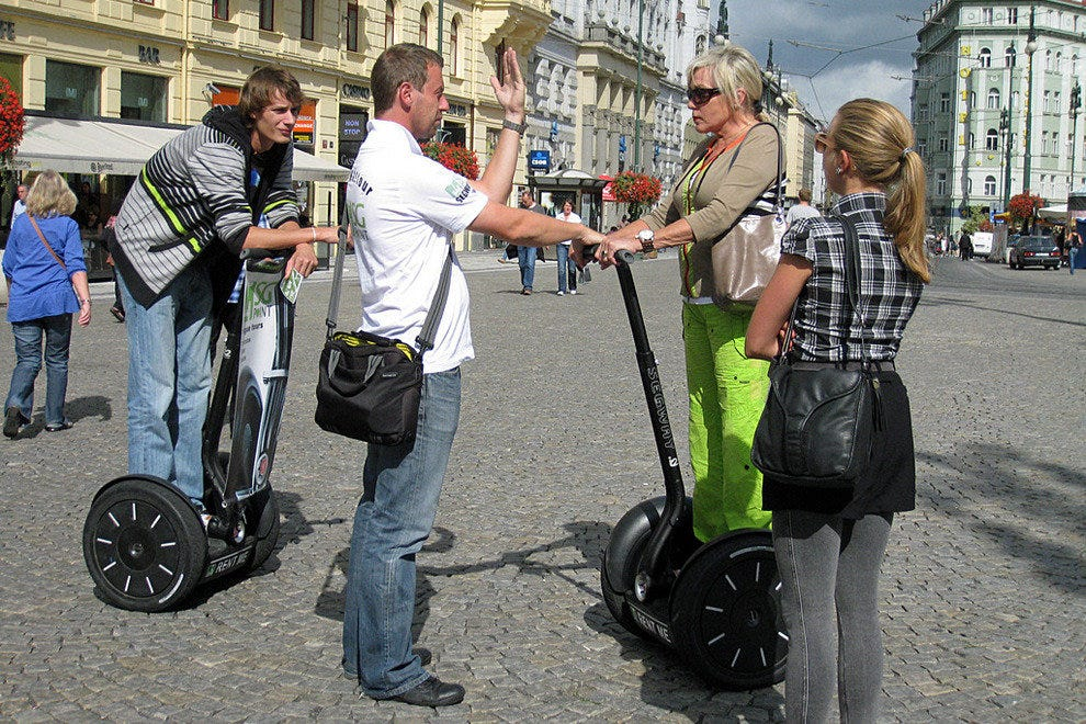 Segway Instructions