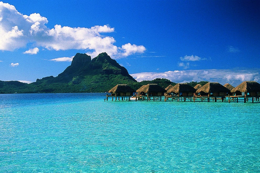 Hd Tropical Island Beach Paradise Wallpapers And Backgrounds: 10Best Features Beautiful Bora Bora In French Polynesia